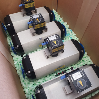PMV Pneumatic Positioner Fitted to Automax Actuators