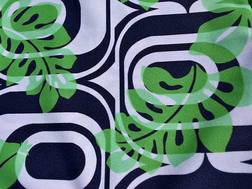 Groovy Navy - Green