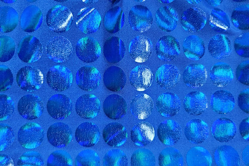 Holographic Circles - Blue