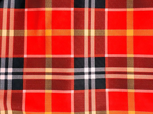 Red Plaid Fleece Lined