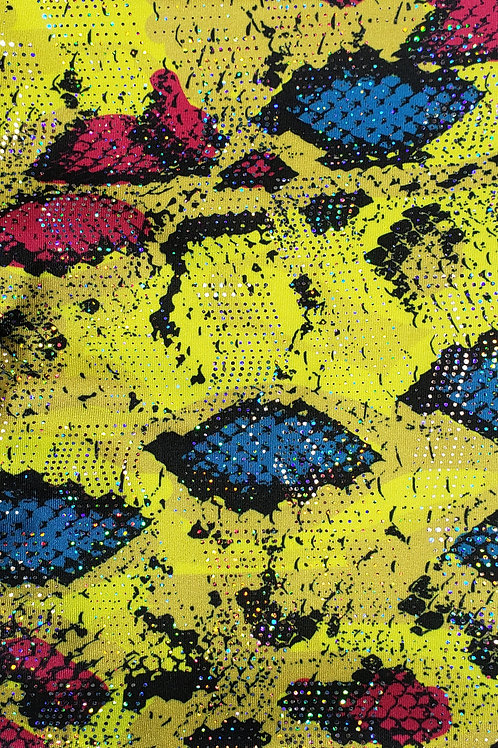 Snake Bling Skin - Yellow