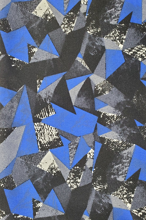 Abstract Blue/Black