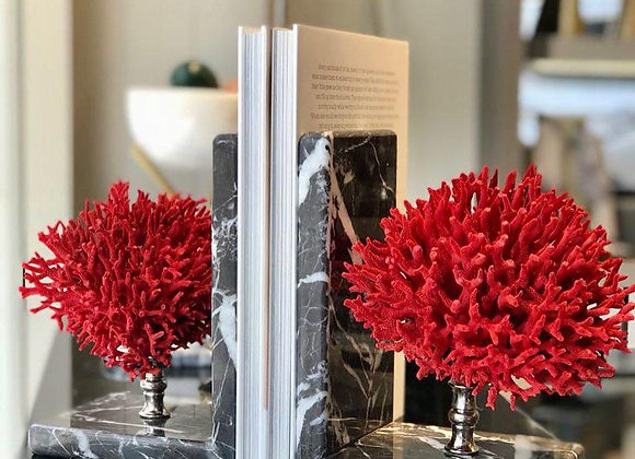 Red Coral Mermer kitaplık