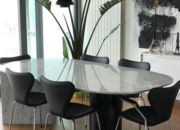 Carrera Mermer Yemek Masası