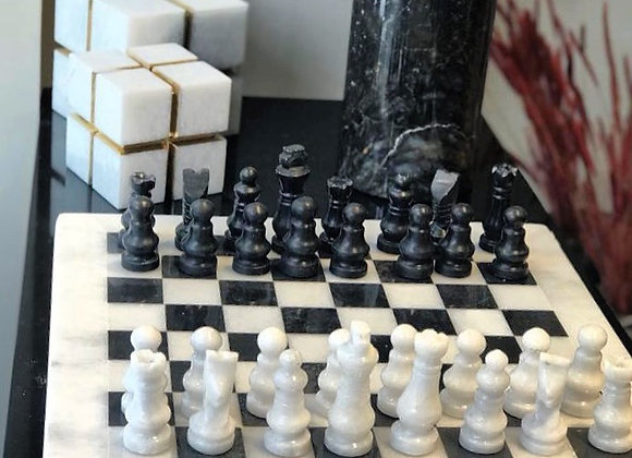 Mermer Satranç Takımı