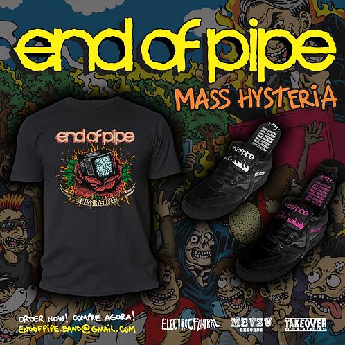 "Camiseta ""Mass Hysteria"""