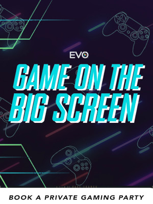 Play Video Games on the BIG Screen!