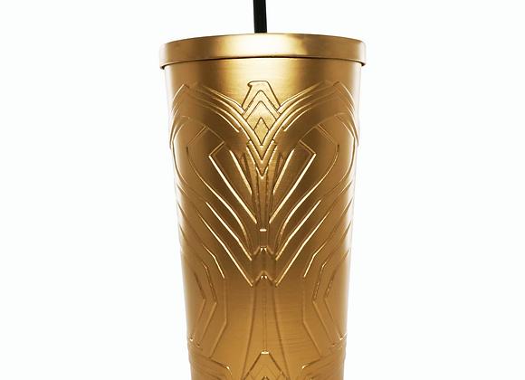 WW86 Gold Totem Cup w/ straw (32oz)