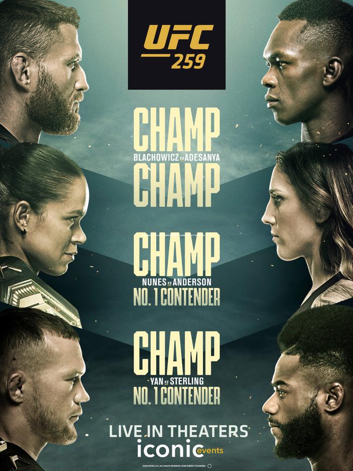 UFC 259 : Blachowicz vs. Adesanya