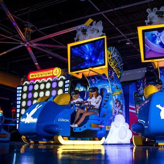 Virtual Rabbids VR Coaster