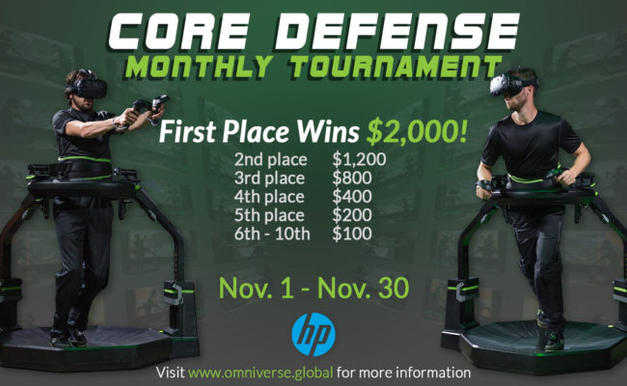 MONTHLY TOURNAMENT: CORE DEFENSE