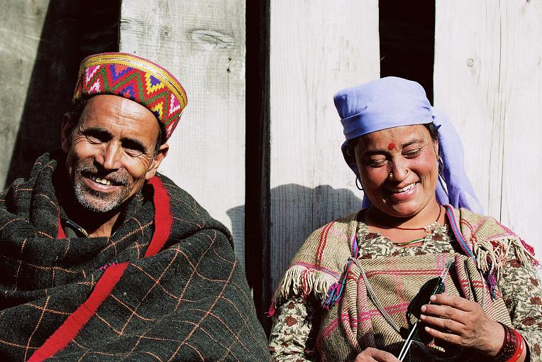 Local people of himachal