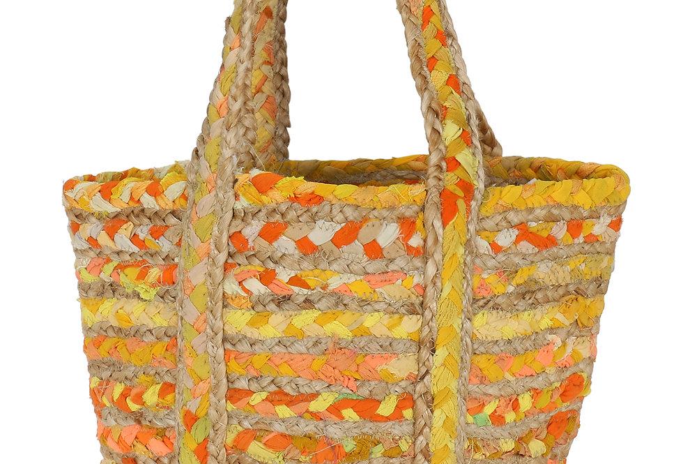 Vacay Jute Bags for Women yellow shade