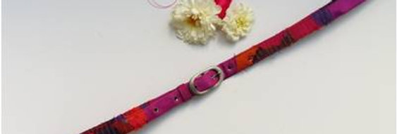 Ikat style Fabric belt for women
