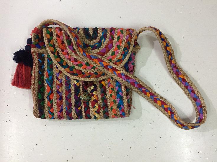Traditional Sling  Jute Bag for Women