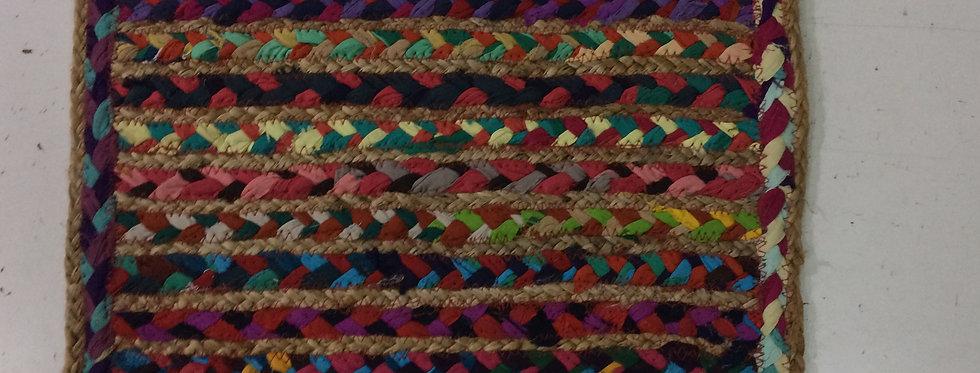 Single Multi Color Fabric Table mat online