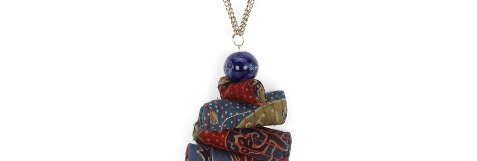 Fabric Rolled up Neck Piece