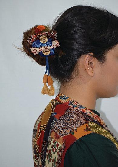 Fabric Designer Hair Pin for Women