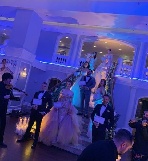 Staircase Lighting  The Arts Ballroom  Philadelphia, Pa