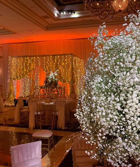 Uplights Philly Wedding Lighting