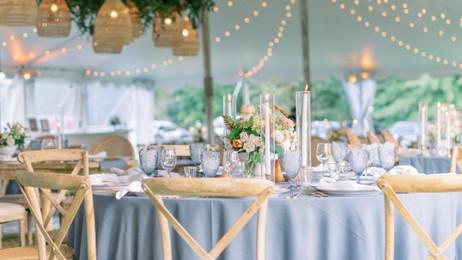 Floral Chandelier Philly Wedding Lightin