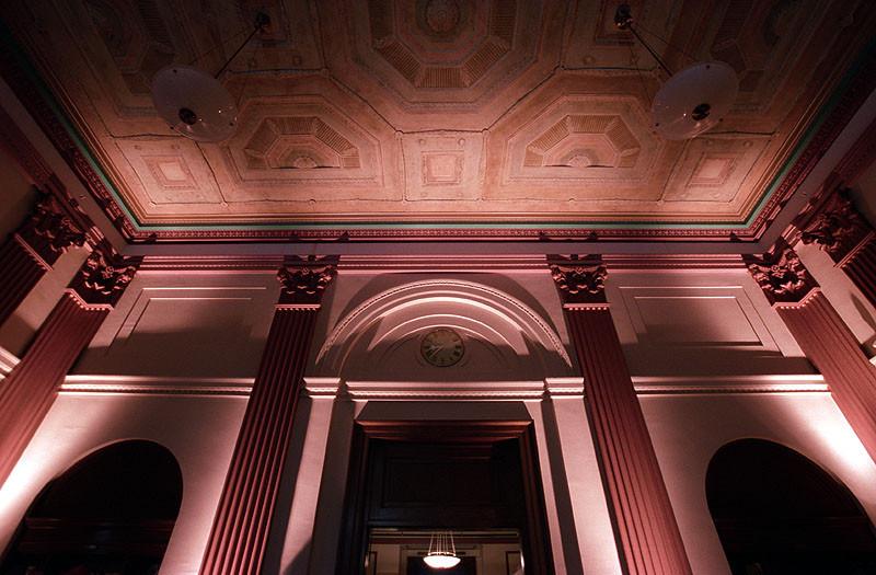 Uplighting Franklin Institute