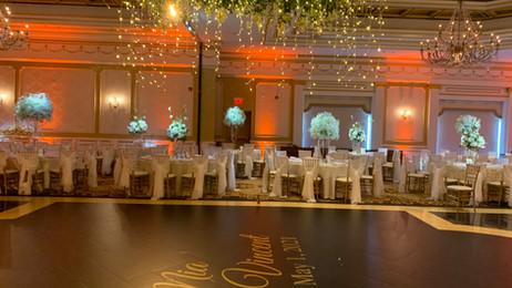 Philly Wedding Lighting