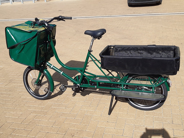 Bicicapace | Electric Justlong cargo bike BACK TO SCHOOL OFFER