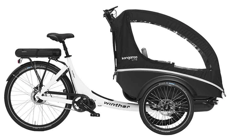 Winther | E-Kangaroo Lite | one of the nimblest cargo bikes