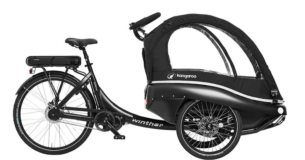 "Winther | E-Kangaroo Luxe - ""the ultimate cargo bike"""