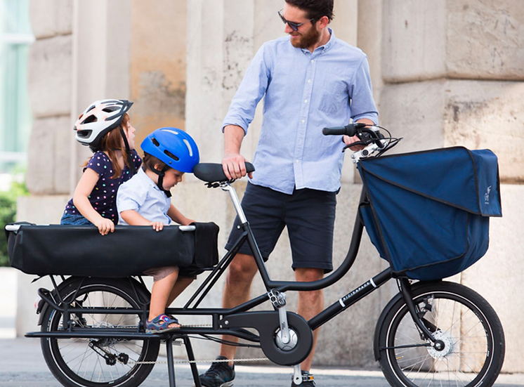 "Bicicapace (""beechee capachey"") | Justlong cargo bike"