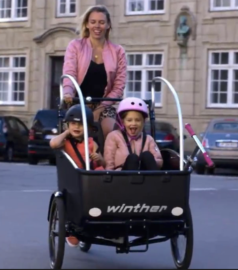 Winther | Cargoo |  the most flexible Cargo Bike up to 4 seats