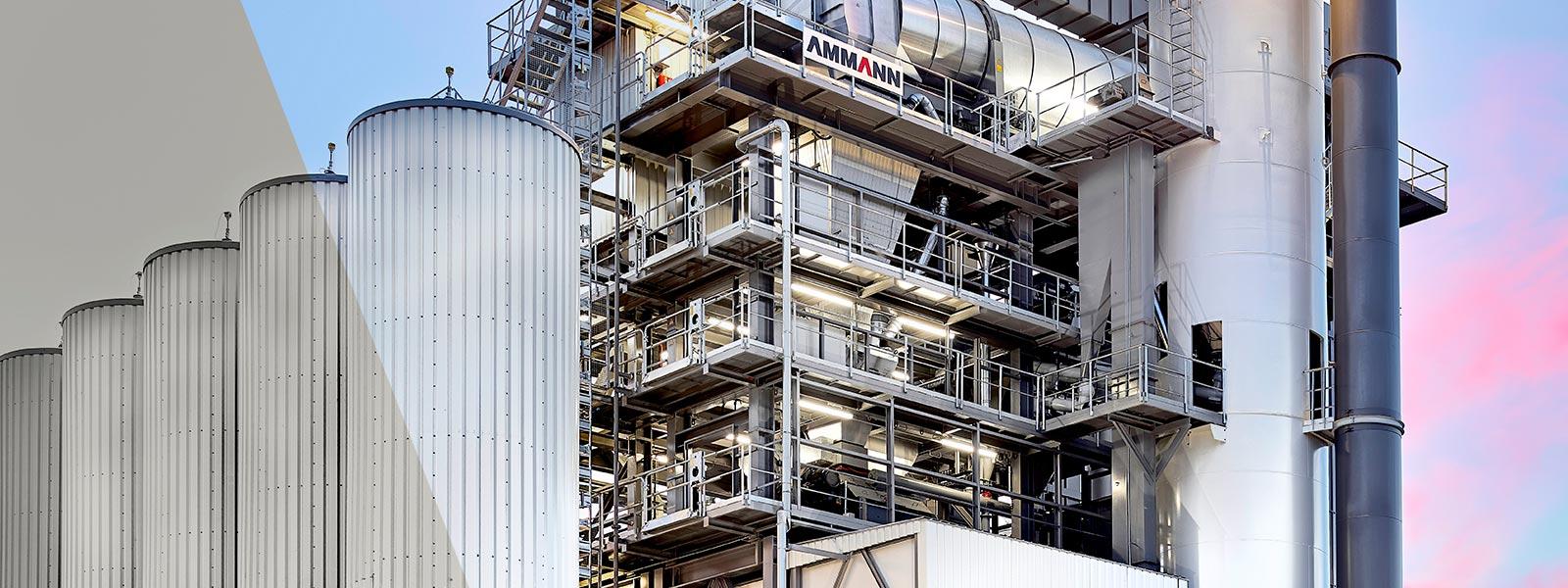 Асфальтобетонный завод Ammann Global