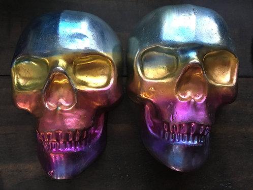 Large bismuth skull