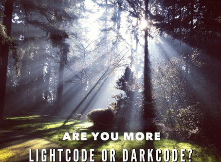 What's your score? Do you work on Lightcode or Darkcode?
