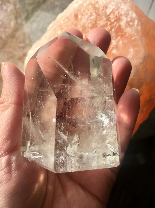 Stunning clear quartz generator from Brazil