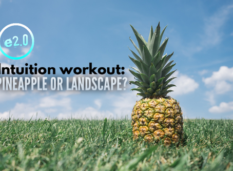 Intuition workout: pineapple or landscape?