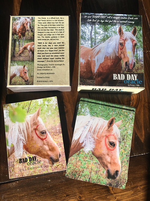 """""""Bad Day Oracle"""" cards by Kristy L Kilik"""