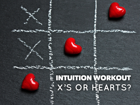Intuition workout: x's or hearts?