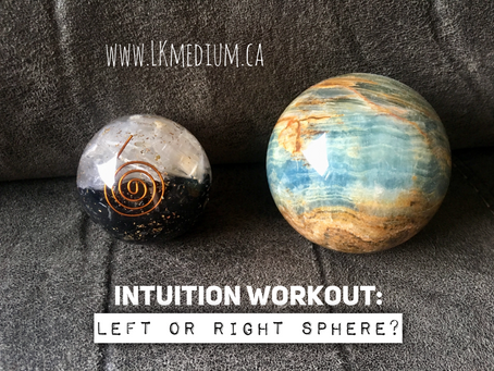 Intuition workout: left or right sphere?