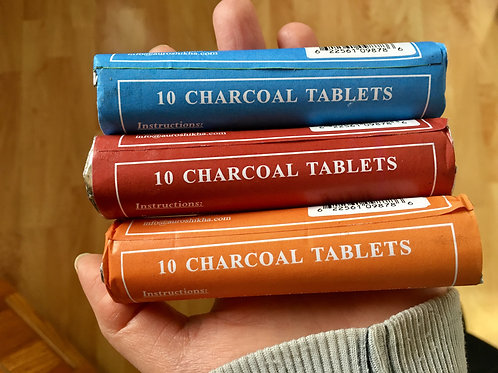 Charcoal (pack of 10)