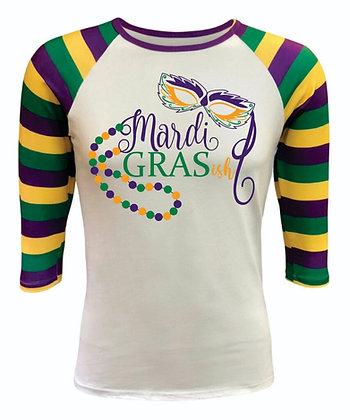 Adult Mardi Gras Shirt, Unisex