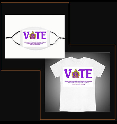 Vote T-shirt & Vote Mask Combo