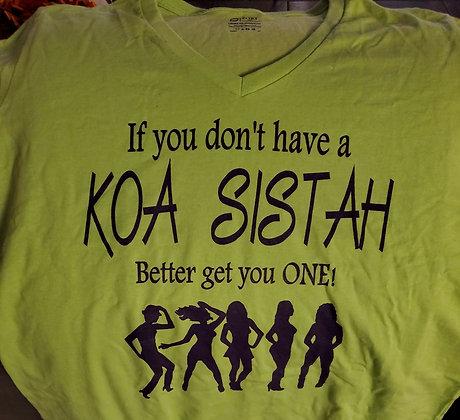 KOA Sistah  Shirt