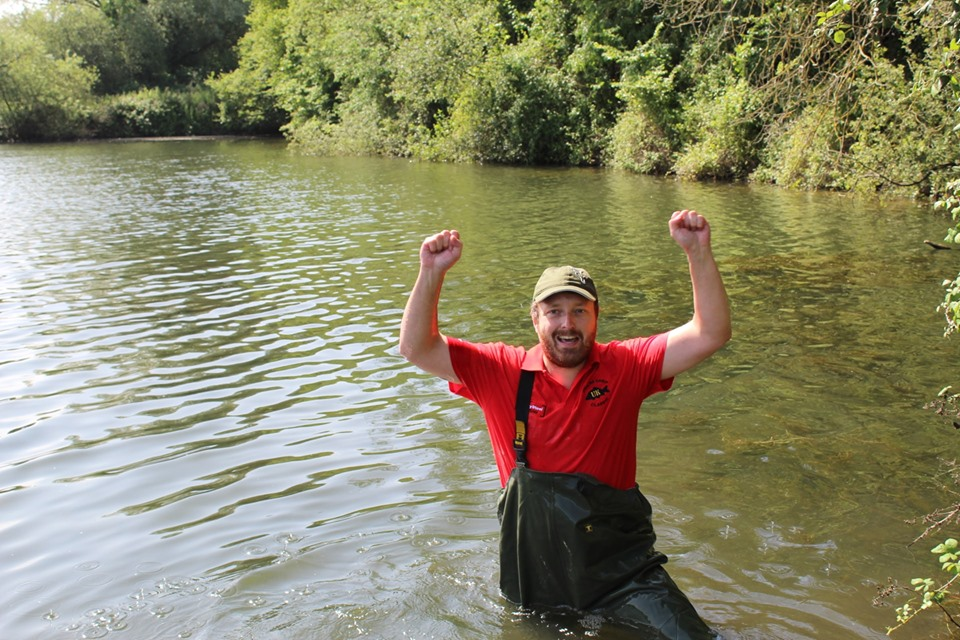Peg 3 - Adam celebrating his win