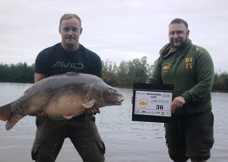 35.  One of the last fish of the event