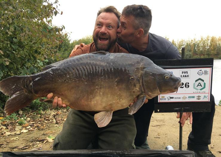 13. Peg 26 enjoying their first fish