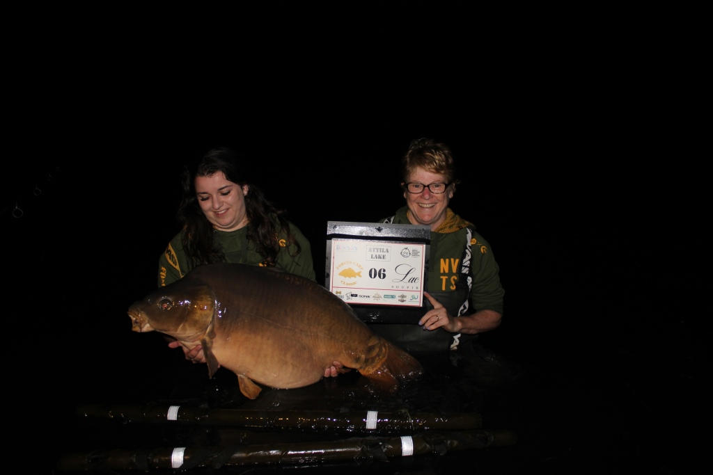 15.  Peg 6. A huge mirror of 51.06 for Chloe Dobson-Shank