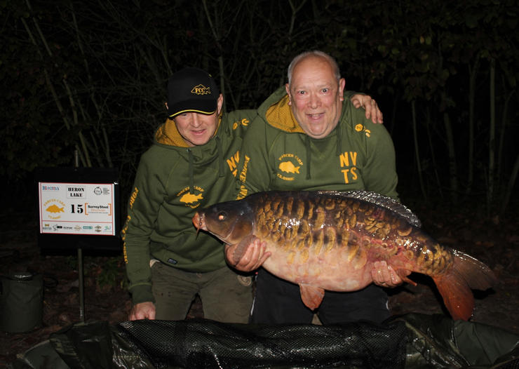 28. Peg 15 with a stunning scaley mirror