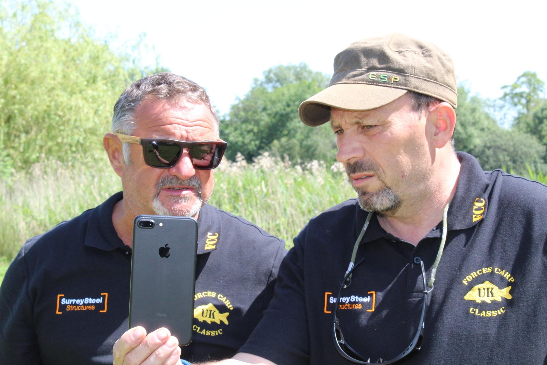 Russ & Tim starting the event